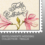 Envelopments Zazzle Store - Custom Postage - Trellis Collection