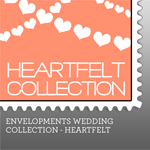 Envelopments Zazzle Store - Custom Postage - Heartfelt Collection