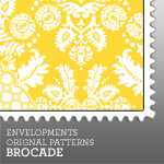 Envelopments Zazzle Store - Custom Postage - Brocade Collection